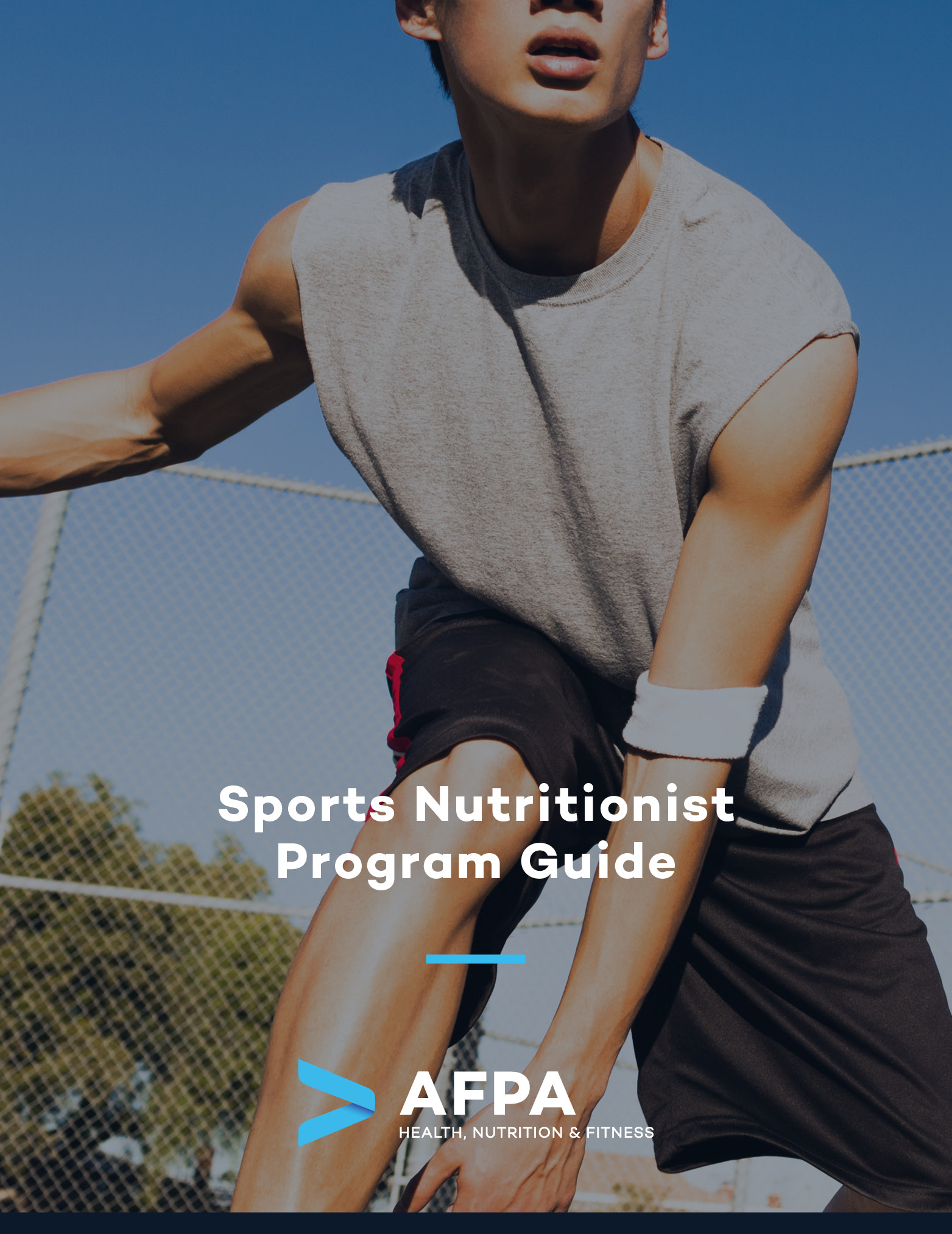 Cover Photo_Sports Nutritionist Program Guide