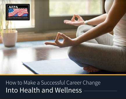 how to make a career change into health and wellness