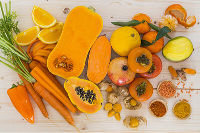 The Science of Orange-Colored Fruits and Vegetables Featured Image