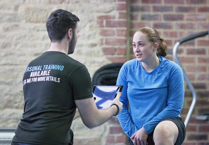 personal training goal setting